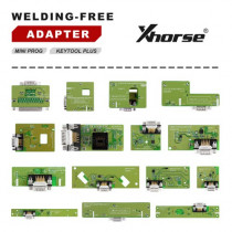 Xhorse MINI PROG and KEY TOOL PLUS Adapters Solder-free Full Set