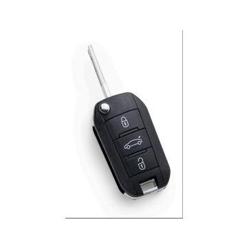 Clé Télécommande Silca pour Peugeot HU83R21 ID46
