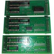 Adaptateur MSP430F