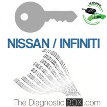 Activation logiciel Nissan / Infiniti TDB1000