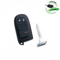 Télécommande compatible CY24P21 JEEP 3 boutons - Silca