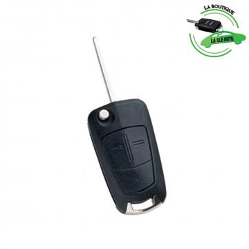 Télécommande compatible HU100AR02 Opel Vauxhall 2 boutons- Silca