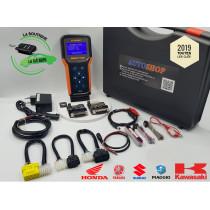 Programmeur de clé ( smartkeys) SMARTTOOL pour HONDA, PIAGGIO, SUZUKI et YAMAHA avec odomètre (sans licence T-Max)