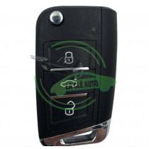 Télécommande XHORSE Universelle 3 boutons style Volkswagen wire modèle